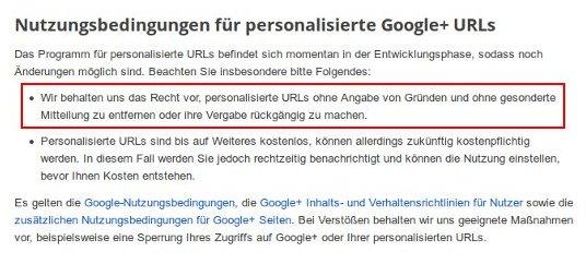 nutzungsbedingungen-personalisierte-url-googleplus