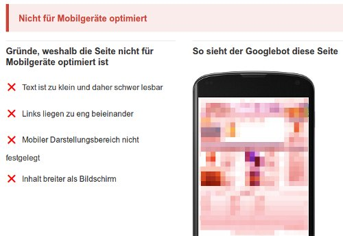 Mobile-friendly wird Google Rankingfaktor